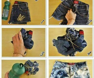 diy, short, and jeans image