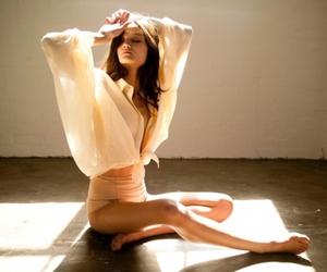 ballerina and brunette image