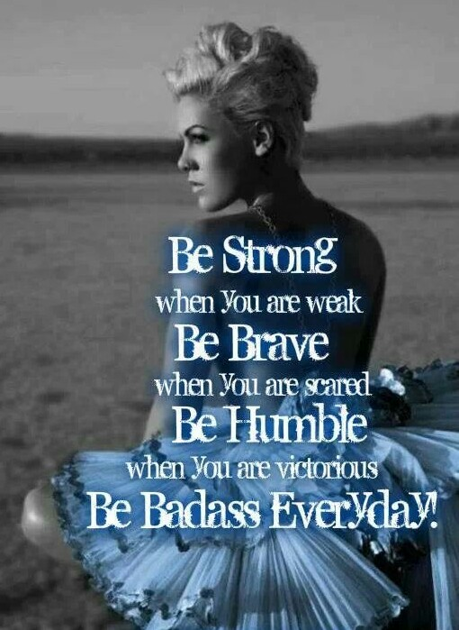 P!NK Inspirational Quote shared by Lane on We Heart It
