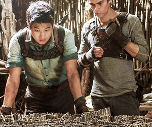 thomas, the maze runner, and Minho image