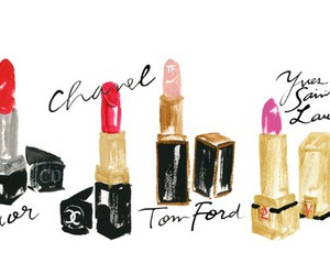 chanel, lipstick, and dior image