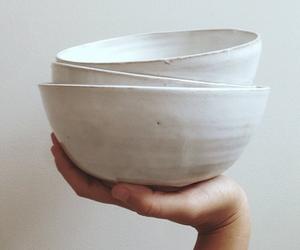 art, bowl, and Ceramic image
