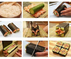 art, food, and maki image