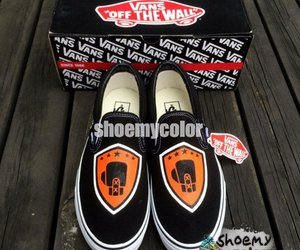 custom shoes, vans shoes, and slip on shoes image