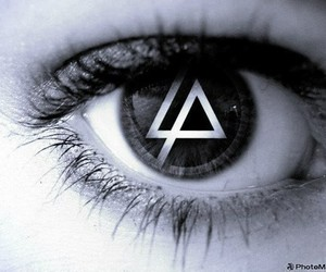 music, eye, and linkin park image