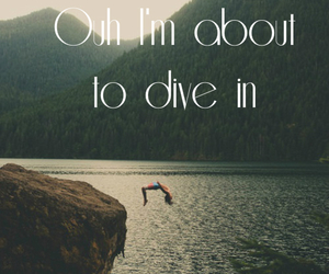 song lyrics, trey songz, and dive in image