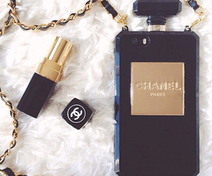 chanel, case, and lipstick image