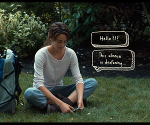 garden, hello, and the fault in our stars image