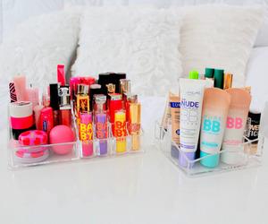 makeup, baby lips, and make up image