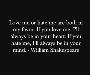 love, quotes, and hate image