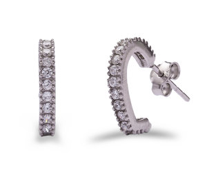 buy now, handmade jewelry, and silver earring image