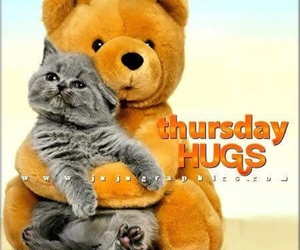 hugs and thursday image