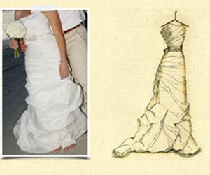 wedding, wedding dress, and anniversary gift image