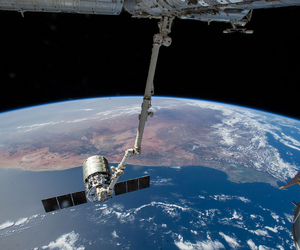 cosmos, international space station, and south africa image