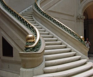 marble and stairs image