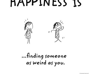 happiness, weird, and someone image