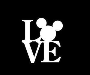 love, disney, and mickey image