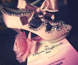 bow, shoe, and rose image