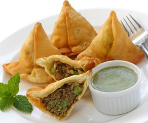 indian food, yum, and yummy image
