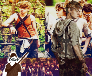 I Love You, newt, and the maze runner image