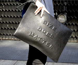 bag, black, and size image