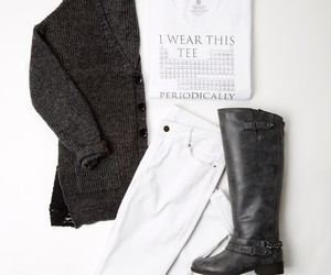 black and white, delias, and fashion image