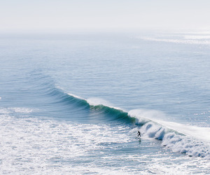 ocean, surfing, and beautiful image