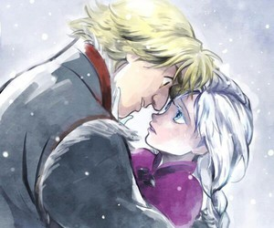 anna, kristoff, and frozen image