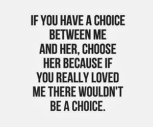 quote, love, and choice image