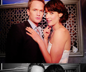 Barney Stinson, cobie smulders, and how i met your mother image