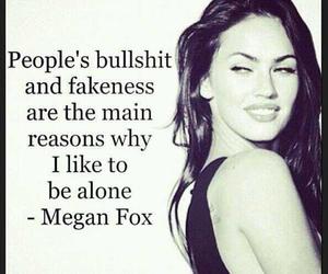 megan fox, quote, and fake image