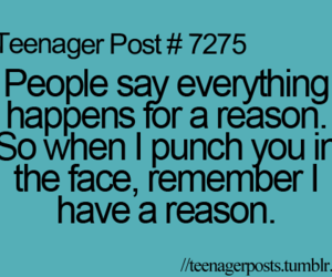 quotes, reason, and funny image