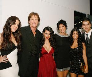 family, khloe kardashian, and kourtney kardashian image