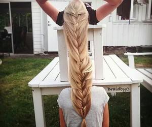 braid, hair, and friends image