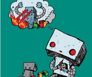 robot and Dream image