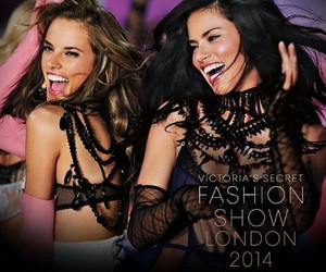 Adriana Lima, victoria's secret angel, and alessandra ambrosio image