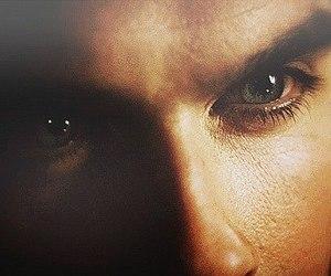ian somerhalder, damon salvatore, and eyes image