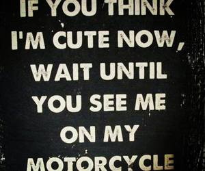 motorcycle, speed, and cute image