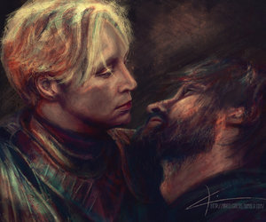 game of thrones, brienne of tarth, and art image
