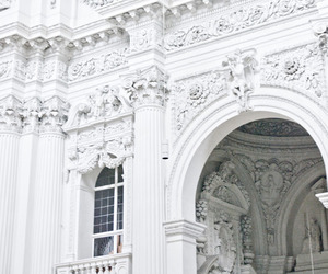 white, architecture, and building image