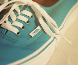 vans and girl image