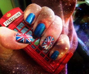 britain, telephone booth, and cake image