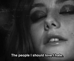 skins, Effy, and hate image