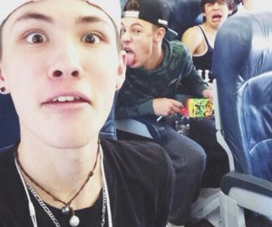 carter reynolds, cameron dallas, and hayes grier image