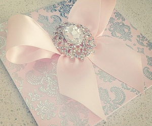 beautiful, princess, and wedding invitation image