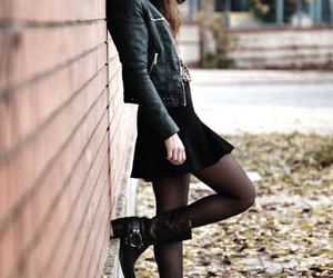 rock, black, and style image