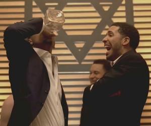 Drake, fun, and drunk image