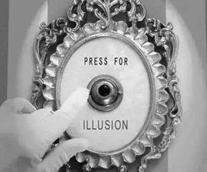 illusion, champagne, and button image
