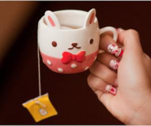 kawaii, mug, and cute mug image