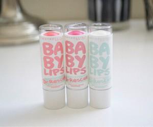 baby lips, pink, and lips image